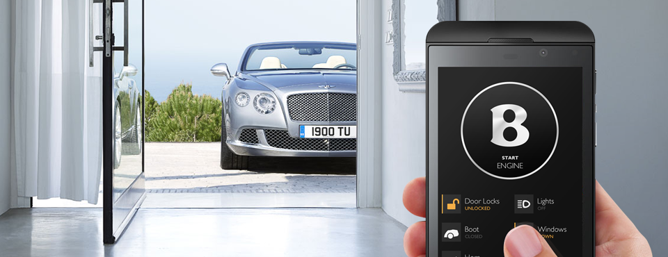 QNX Bentley Mobile App